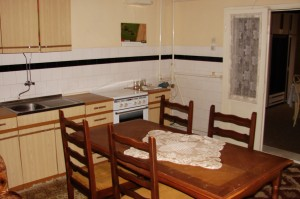 Kitchen and dining rom